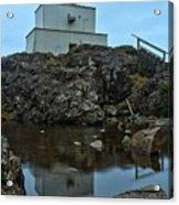 Amphitrite Point Lighthouse Reflections Acrylic Print