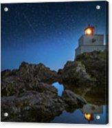 Amphitrite Point Lighthouse Acrylic Print
