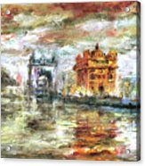 Amritsar Palace Acrylic Print