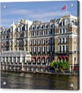 Amstel Amsterdam Hotel Acrylic Print