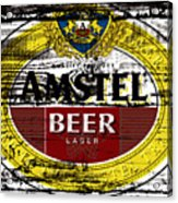 Amstel Beer Sign  Acrylic Print