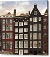 Amsterdam Architectre At Twilight Acrylic Print