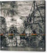 Amsterdam Bicycle Nostalgia Acrylic Print