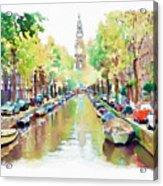 Amsterdam Canal 2 Acrylic Print