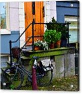 Amsterdam Door Acrylic Print
