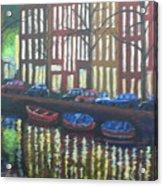 Amsterdam Evening Acrylic Print