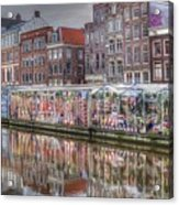 Amsterdam Flower Market Acrylic Print
