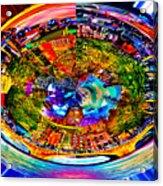 Amsterdam Frisbee Acrylic Print