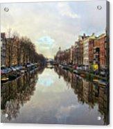 Amsterdam Reflected Acrylic Print