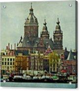 Amsterdam Skyline Acrylic Print