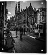 Amsterdam Street Acrylic Print