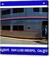Amtrak San Luis Obispo Acrylic Print
