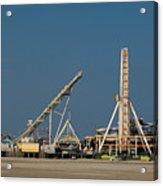 Amusement Pier And Waterpark Acrylic Print