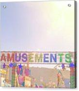 Amusements Acrylic Print