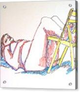 Bonnie And Chair Acrylic Print