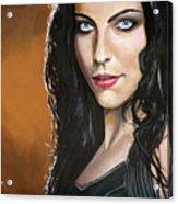 Amy Lee Acrylic Print