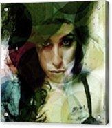 Amy Whirls  Acrylic Print