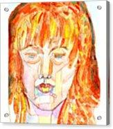 Face Planes Acrylic Print
