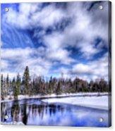 An Adirondack Winter Acrylic Print