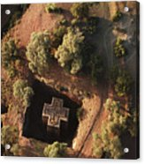 An Aerial View Of Beta Acrylic Print