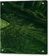 An Aerial View Of The Nazca Lines. They Acrylic Print