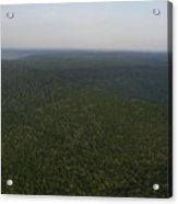 An Aerial View Shows The Forests Acrylic Print
