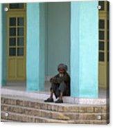 An Afghan Man Acrylic Print