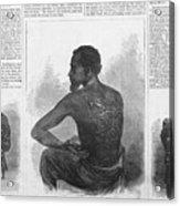 An African American Runaway Slave Named Acrylic Print