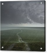 An Afternoon Thunderstorm Coming Acrylic Print