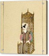 An Album Of Ottoman Court Drawings Acrylic Print