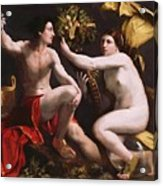 An Allegory Of Fortune 1538 Acrylic Print