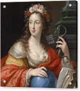 An Allegory Of Intelligence Acrylic Print