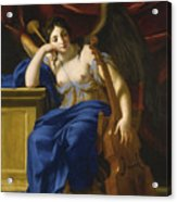 An Allegory Of Poetry Acrylic Print