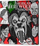 An American Werewolf In London Acrylic Print