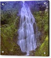 An Angel In The Falls  Acrylic Print