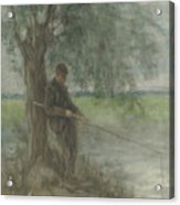 An Angler Acrylic Print
