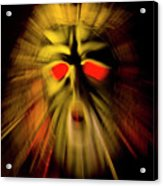 An Angry God Acrylic Print