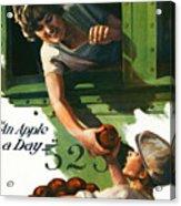 An Apple A Day Acrylic Print