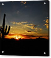 An Arizona Sunrise  Acrylic Print
