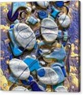 An Arrangement Of Stones Acrylic Print