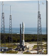 An Atlas V-551 Launch Vehicle At Cape Acrylic Print