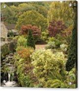 An Autumn Garden  Acrylic Print