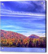 An Autumn Panorama Acrylic Print