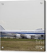 An E-4 Advanced Airborne Command Post Acrylic Print