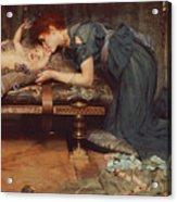 An Earthly Paradise Acrylic Print by Sir Lawrence Alma-Tadema