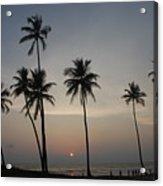 An Evening At The Beach-1 Acrylic Print