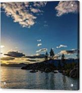 An Evening At The Lake Acrylic Print