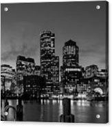 An Evening In Boston Acrylic Print