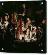 An Experiment On A Bird In The Air Pump Acrylic Print by Joseph Wright of Derby
