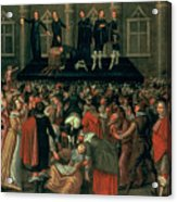 An Eyewitness Representation Of The Execution Of King Charles I Acrylic Print